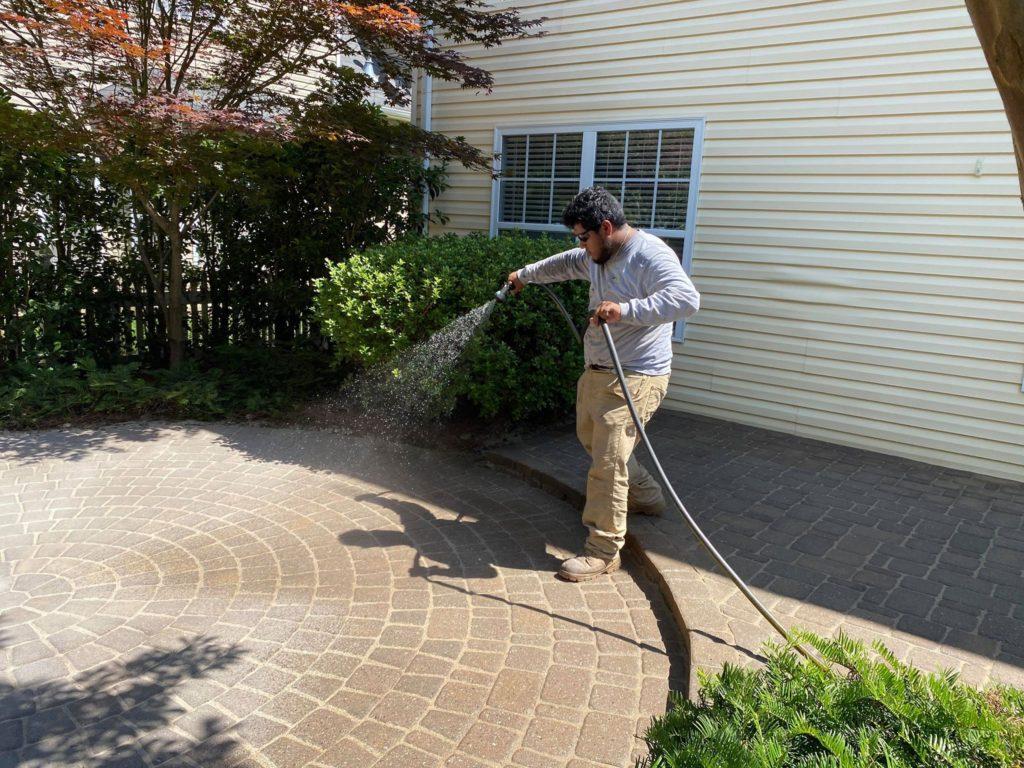 Paver Sealer Remover in Lake Norman